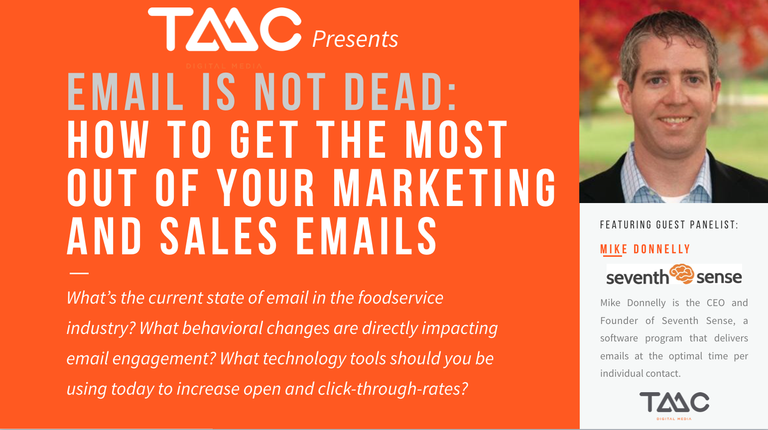 email is not dead - tmc digital media